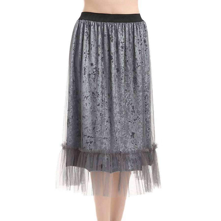 Crushed Velvet Suspension Skirt,Dresses,Mad Style, by Mad Style