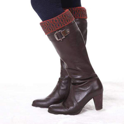 Dresden Knit Boot Cuff