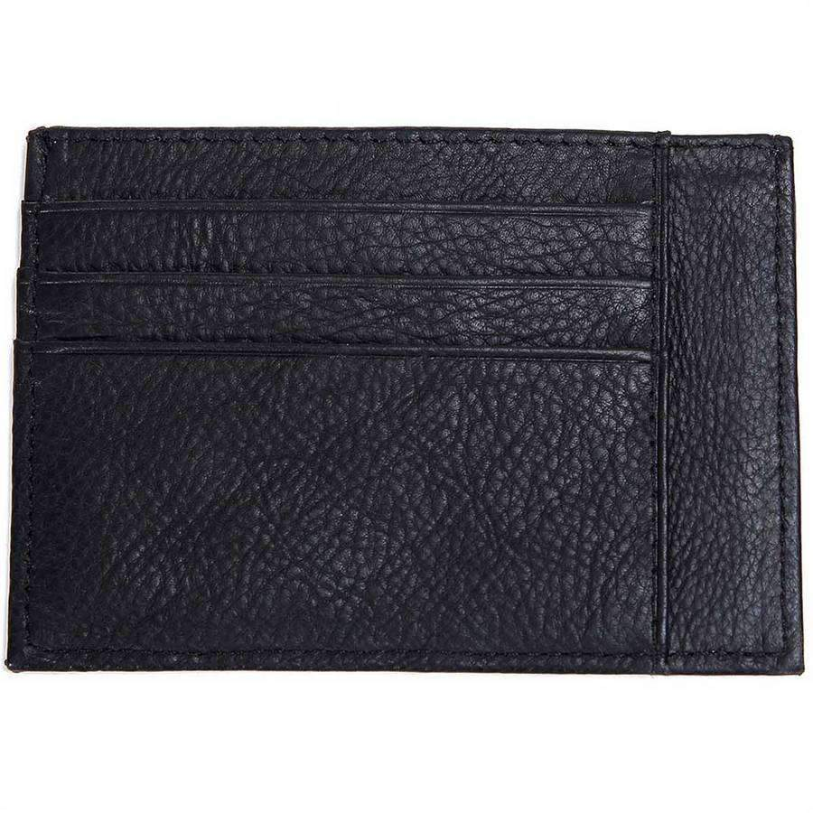 new style f2fff a187e Grained Leather Two Sided Card Case