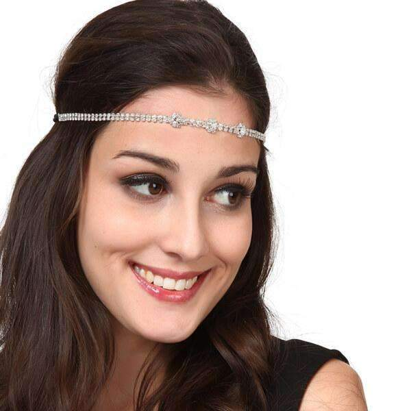Kristy Fleurs Metal Headband,Hats and Hair,Mad Style, by Mad Style