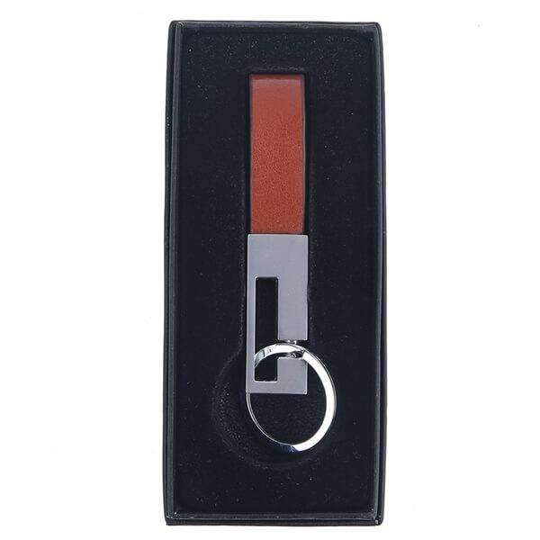 Leather Fob Key Chain,Guy Gifts,Mad Man, by Mad Style