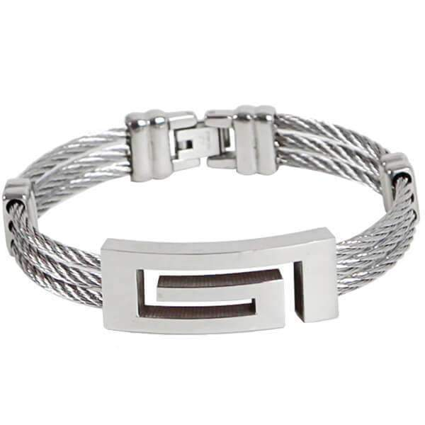 Mad Man Cable Bracelet,Jewelry,Mad Man, by Mad Style