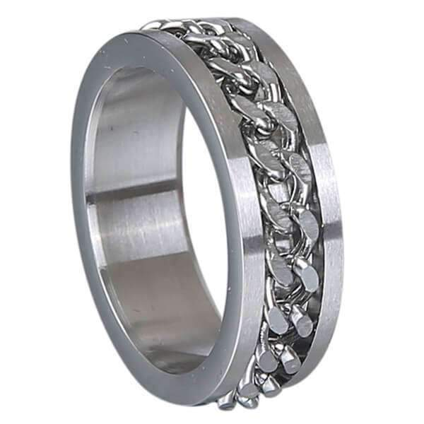 Mad Man Denzel Stainless Ring,Jewelry,Mad Man, by Mad Style
