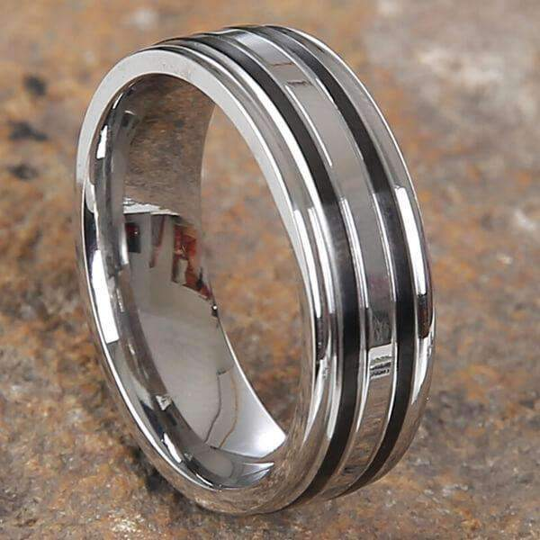 Mad Man Mick Stainless Ring,Jewelry,Mad Man, by Mad Style