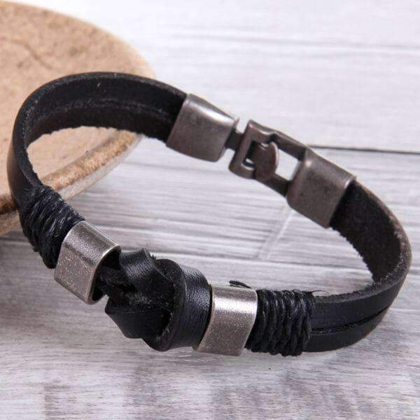 Mad Man Nantucket Leather Bracelets,Jewelry,Mad Man, by Mad Style