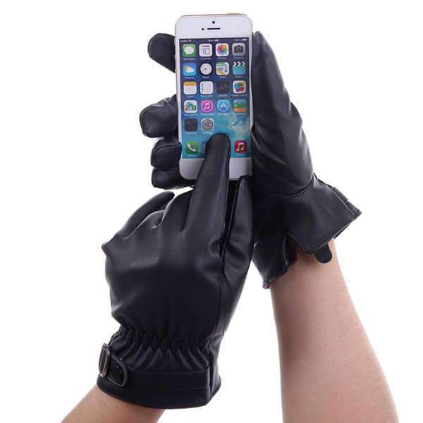 Mad Man No Tips Texting Gloves