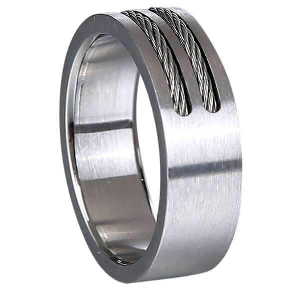 Mad Man Prescott Stainless Ring,Jewelry,Mad Man, by Mad Style