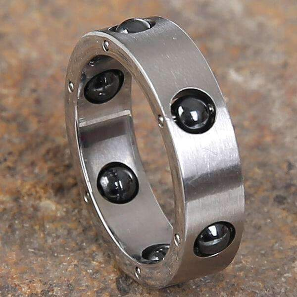 Mad Man Wolfe Stainless Ring,Jewelry,Mad Man, by Mad Style