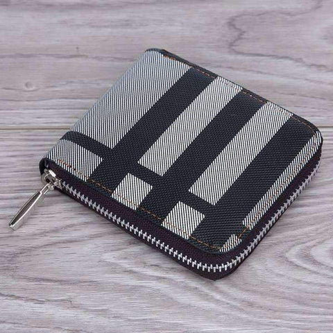 Maverick Plaid Wallet
