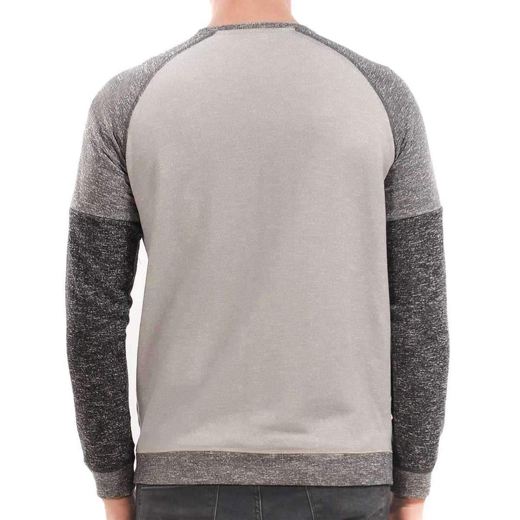 Men's 3 Toned Sweatshirt,Apparel,Mad Man, by Mad Style