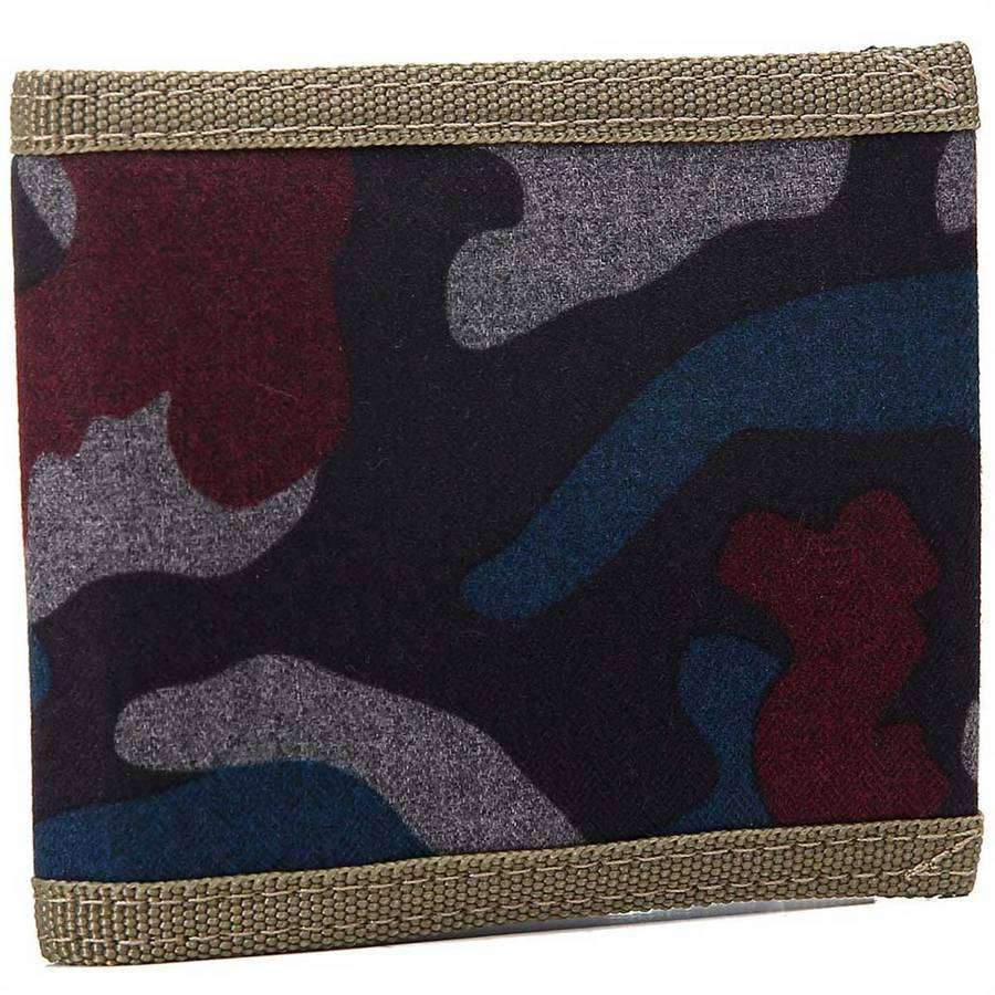 Men's Canvas Camo Wallet,Wallets and Clips,Mad Man, by Mad Style