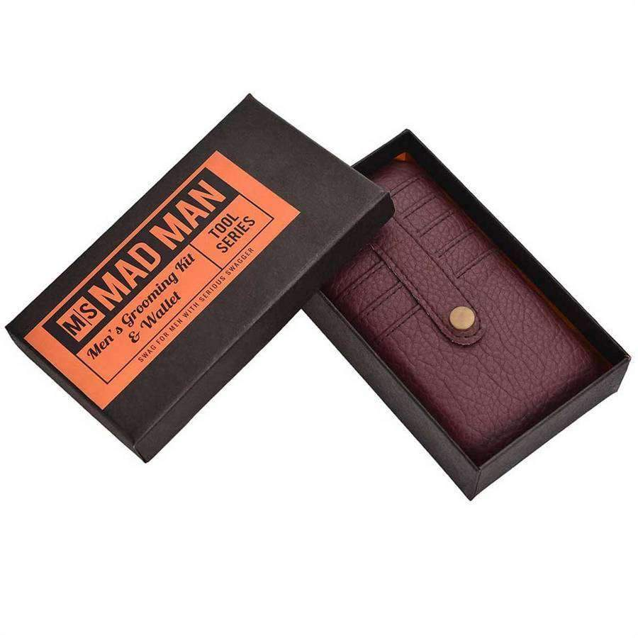 Men's Grooming Kit and Wallet,Wallets and Clips,Mad Man, by Mad Style