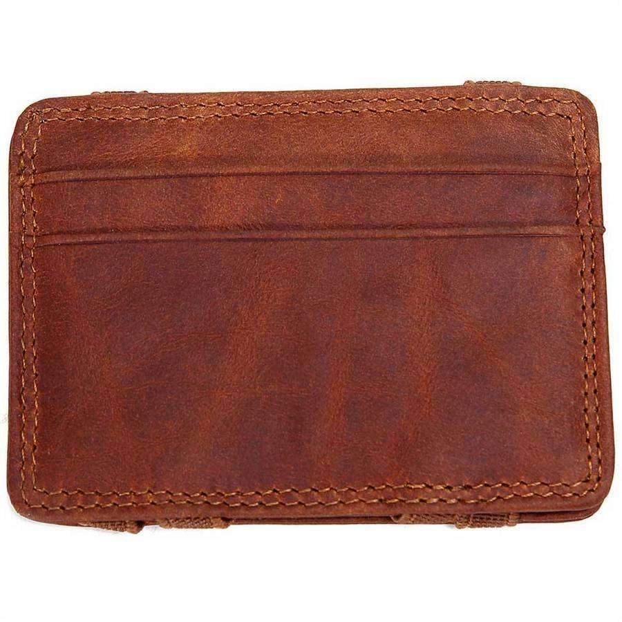 Men's Leather Flip Wallet,Wallets and Clips,Mad Man, by Mad Style