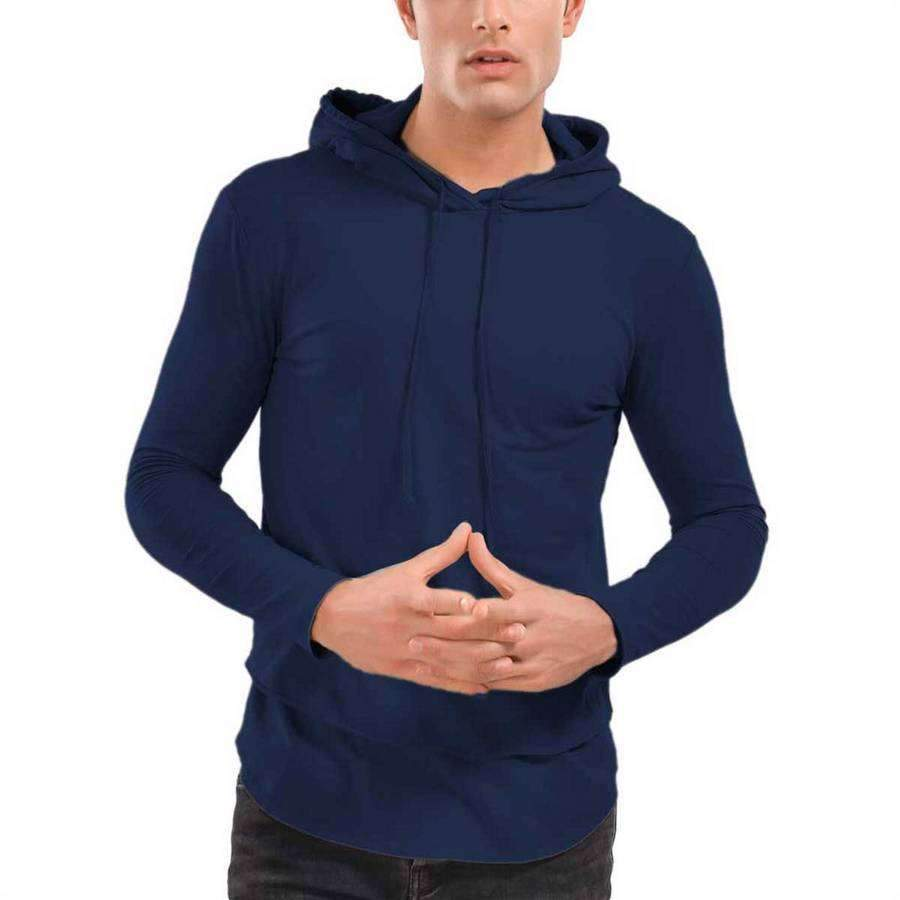Men's Rolled Layered Hoodie,Apparel,Mad Man, by Mad Style