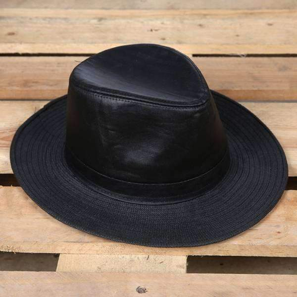 Outback Straw & Leather Hat,Winter Gear,Mad Man, by Mad Style