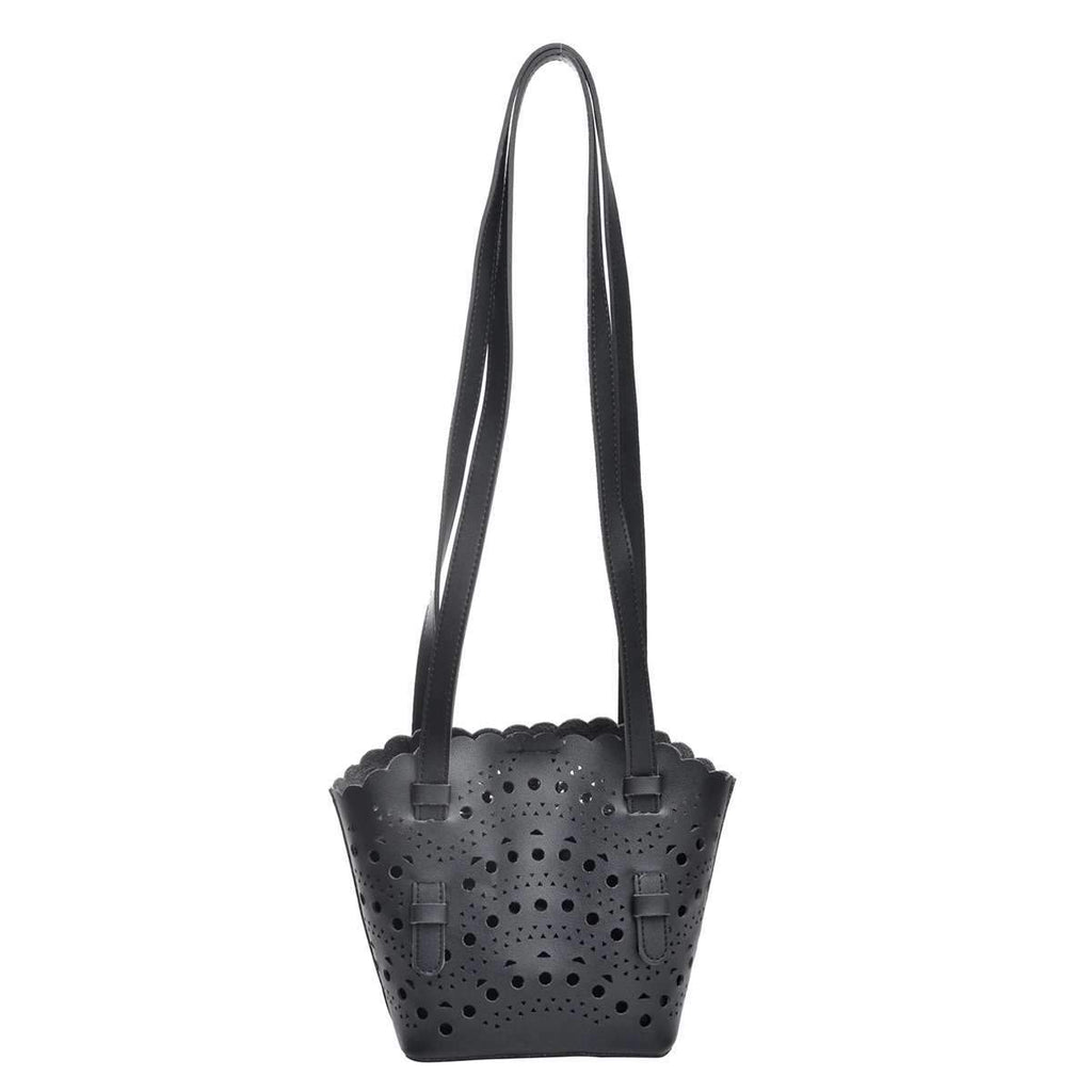 Oxford Laser Cut Tote,Totes,Mad Style, by Mad Style