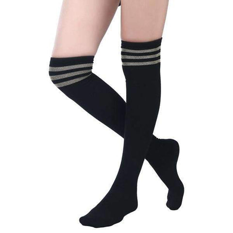 Varsity Over the Knee Sock