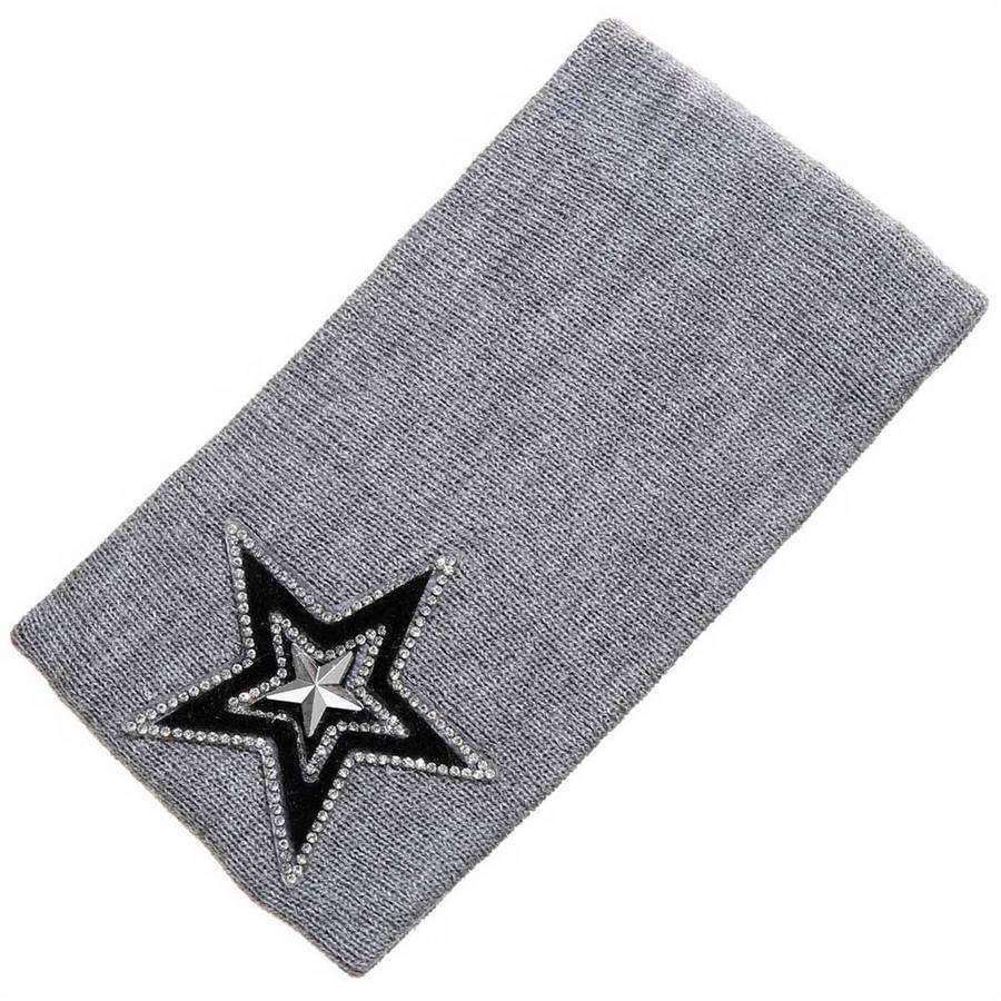 Varsity Star Wide Headband,Hats and Hair,Mad Style, by Mad Style