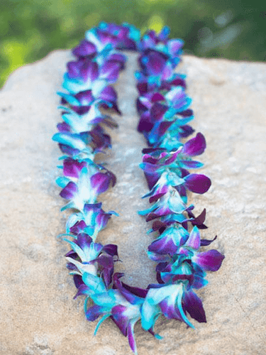 JF140 - Single Orchid Lei