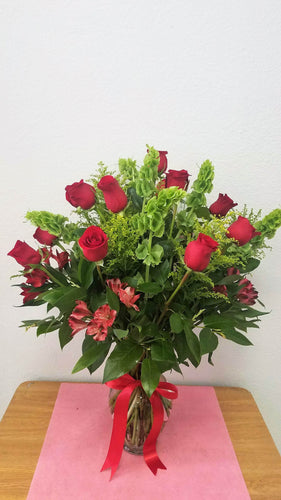 JF109- I Love You Red Roses
