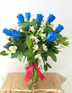 JF126- Blue Roses Bouquet
