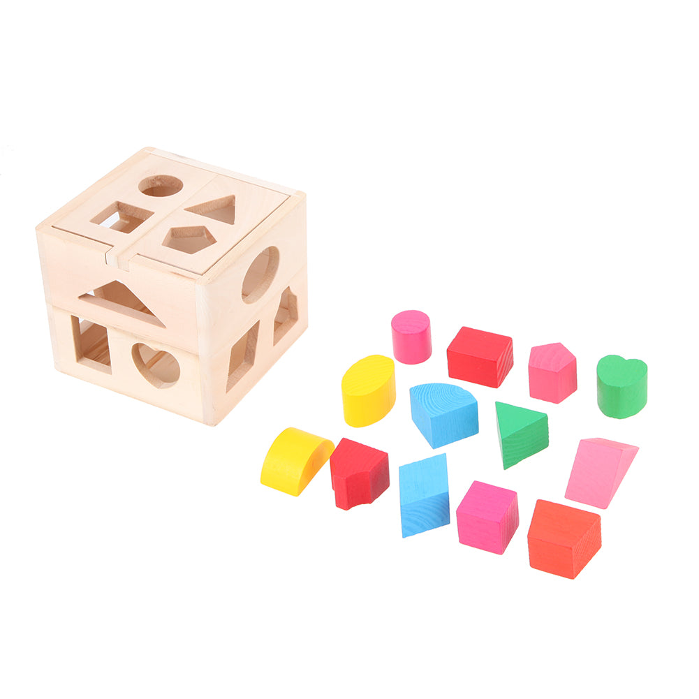 Geo Wooden Educational Shape Sorter
