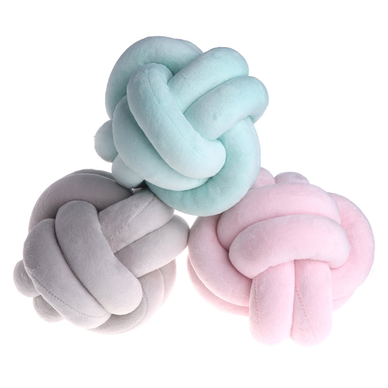 Baby Knot Ball Pillow