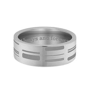 8mm Titanium DNA Ring