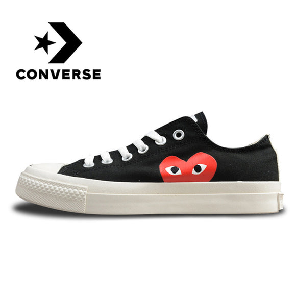 Converse CDG X Chuck Taylor 1970s HiOX 18SS Skateboarding Shoes Sport for  Men and Women Unisex f731bcb47c5a