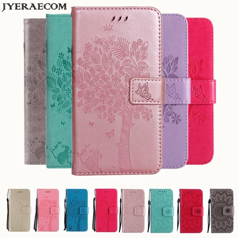 Coque Case For Xiaomi Redmi 4X 4A 5A 6A 3S Mi 5X A1 A2 lite Flip Wallet  Leather Cover For Xiaomi Redmi Note 4X 3 4 5 6 pro Case