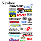 Newbee 2017 Fashion Motorcycle Bicycle Car Styling Stickers Decal Skateboard Graffiti Snowboard Luggage Bags Laptop Vinyl Film