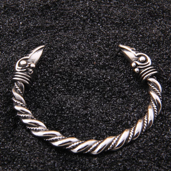stainless steel raven Bracelet Indian Jewelry Fashion Accessories Viking Bracelet Men Wristband Cuff Bracelets For Women Bangles