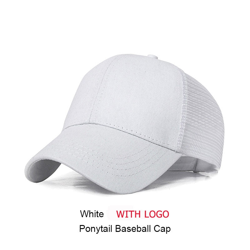 a8037f05c3df6 ... SIMPLESHOW Glitter Ponytail Baseball Cap Women Snapback Hip Hop Caps  Female Sequins Shine Summer Hats Mesh ...