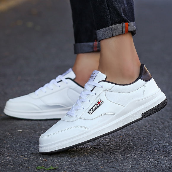 Men Casual Shoes Adult High Quality Comfortable Lace up Soft Men Shoes 2019 Spring New Brand off White Zpatos Hombre