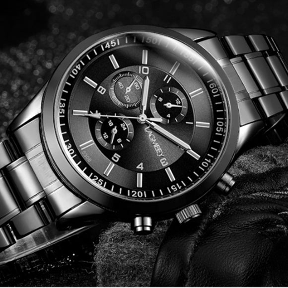 Men's Watch Luxury Stainless Steel Sport Watches Top Brand Men Watch Men Watch Clock relogio masculino erkek kol saati