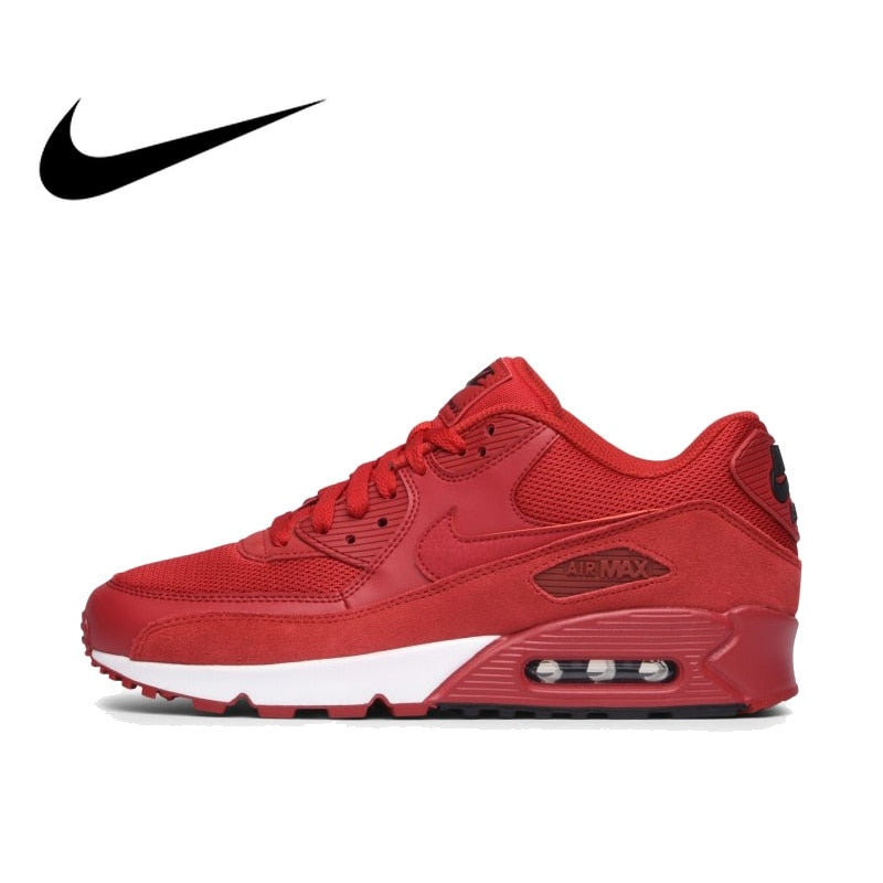 137fbde0dcc NIKE AIR MAX 90 Original Authentic Men s ESSENTIAL Running Shoes Sport  Outdoor Sneakers Comfortable Durable Breathable ...