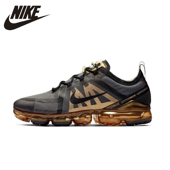 huge selection of 6804f 02f09 NIKE Air VaporMax New Arrival Mens Running Shoes Mesh Breathable  Comfortable Stability Support Sports Sneakers For