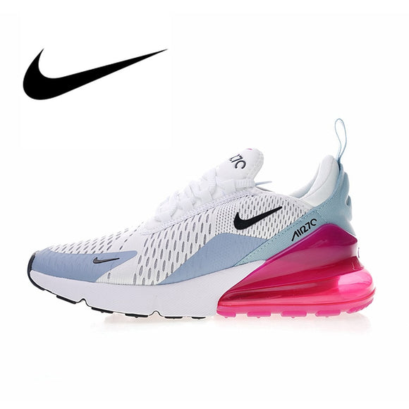 90945c0ec8d2f Original Authentic NIKE Air Max 270 Women s Running Shoes Sport Outdoor  Sneakers Comfortable Breathable 2018 New