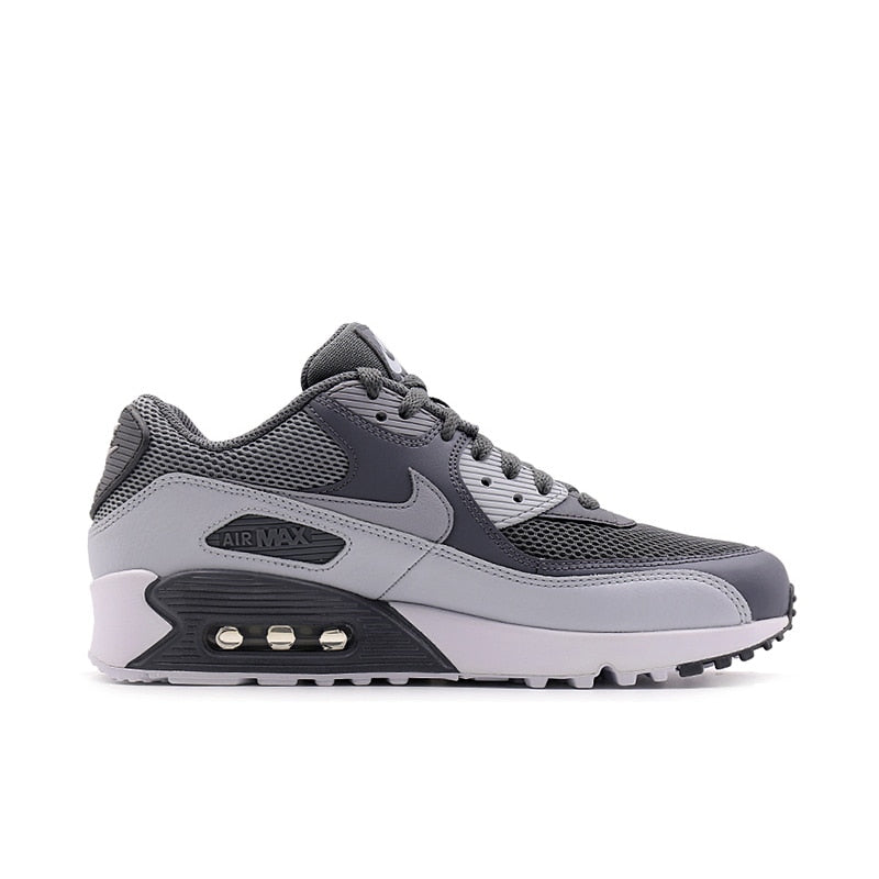 los angeles d5dc0 7e4af ... Original Authentic NIKE Men s AIR MAX 90 ESSENTIAL Breathable Running  Shoes Sneakers Sport Outdoor Comfortable 537384 ...
