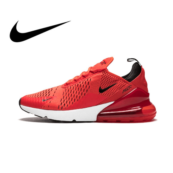 a5390fb247a66 Original Authentic Nike Air Max 270 Men s Running Shoes Sport Outdoor  Sneakers Designer Athletic 2018 New