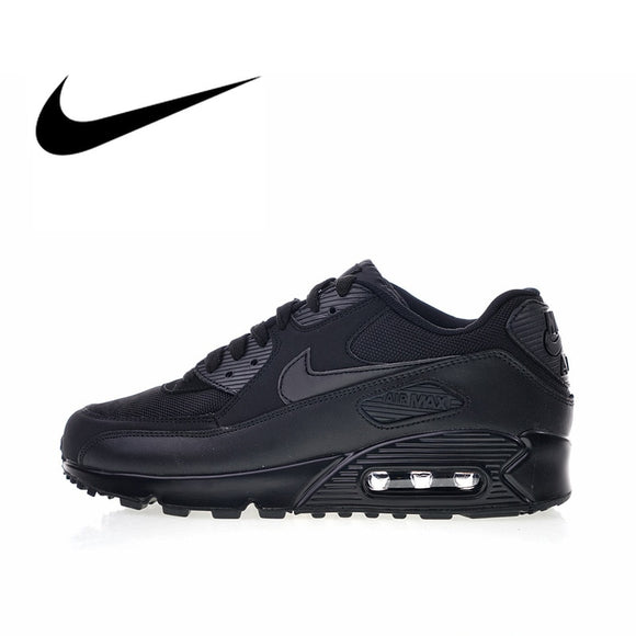 9bf5c6fa65 Original Authentic Nike Air Max 90 Essential Men's Running Shoes Sport  Outdoor Breathable Sneakers 2018 New