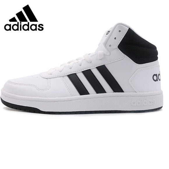 size 40 8af01 18549 Original New Arrival 2018 Adidas Neo Label HOOPS 2.0 MID Men s  Skateboarding Shoes Sneakers