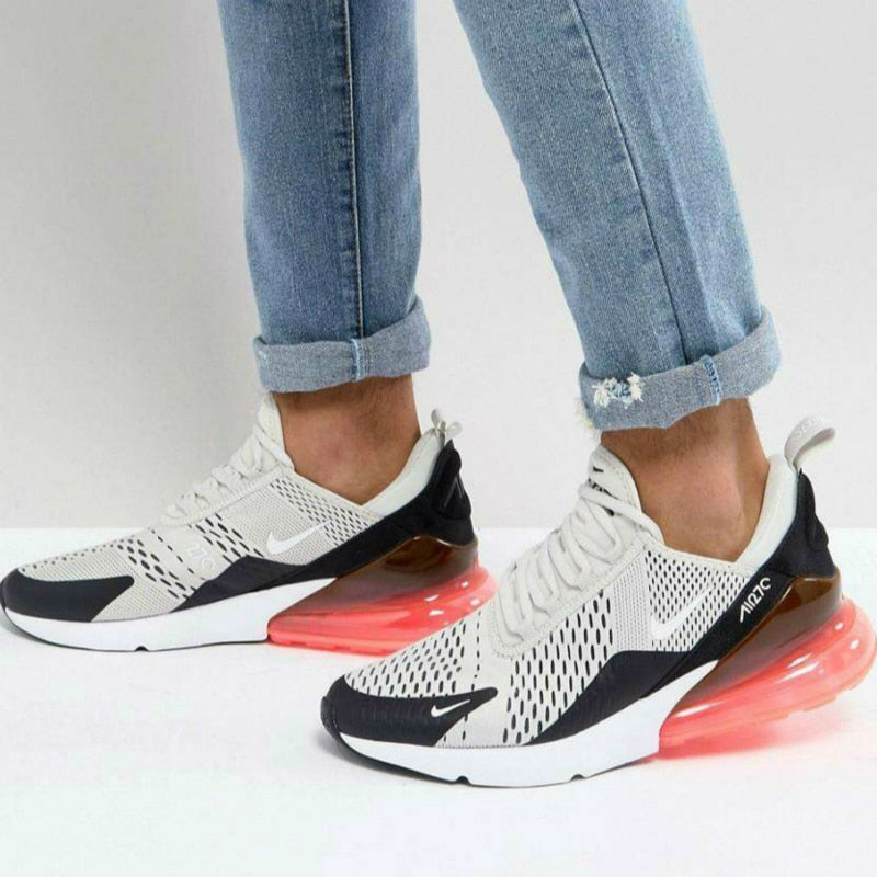 292d2809f6 ... Original Nike Air Max 270 180 Mens Running Shoes Sneakers Sport Outdoor  Walking Jogging Authentic Breathable ...