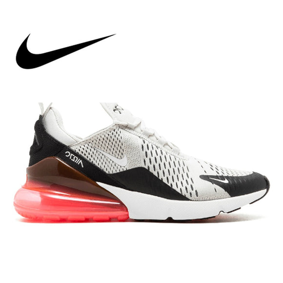 dfdbc979f1 Original Nike Air Max 270 Men's Breathable Running Shoes Authentic Wear  Resistant Comfortable Outdoor Sports Sneakers