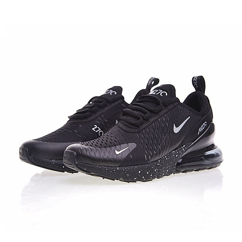 593f81cd7217 ... Original Nike Air Max 270 Men s Breathable Running Shoes Sport 2018 New  Arrival Authentic Outdoor Sneakers ...