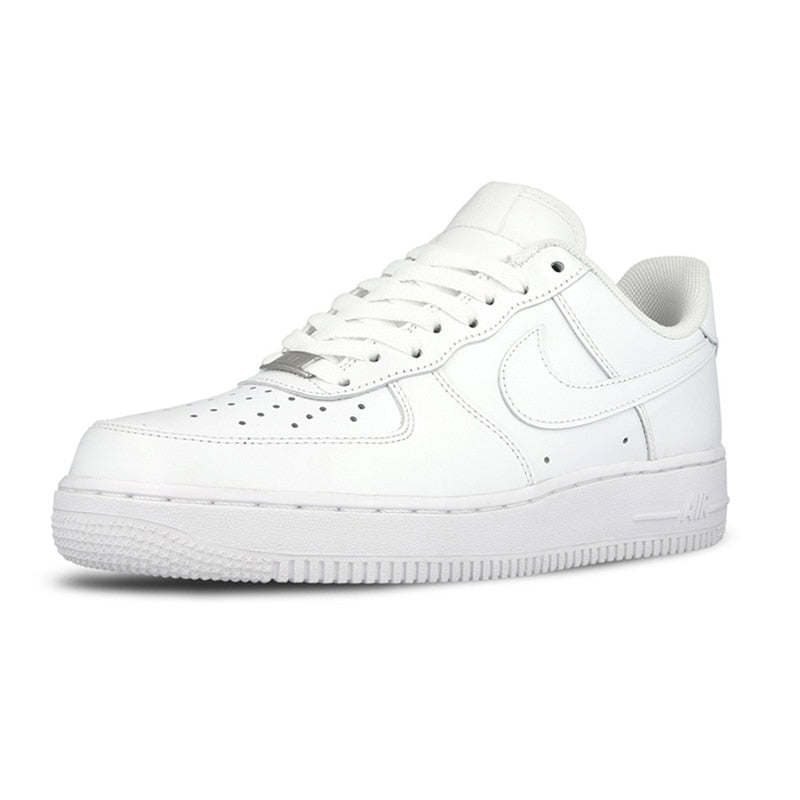 2ce76fcde5 Original Official Nike AIR FORCE 1 AF1 Men Breathable Skateboarding Shoes  Low-top Trainers Sports Flat Classic Outdoor Sneaker