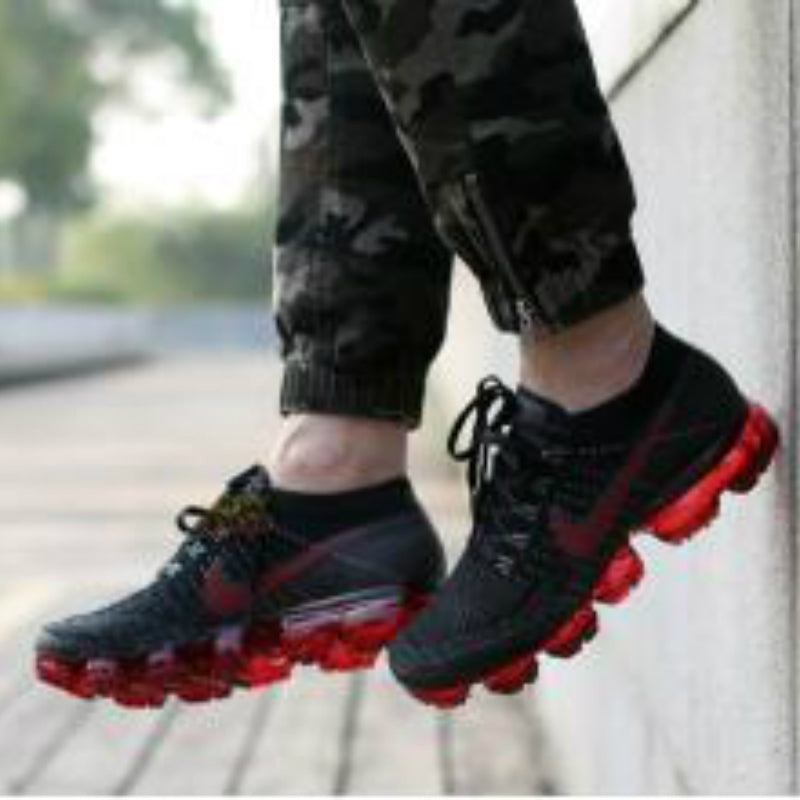 d13fe1b241 ... Original Official Nike Air VaporMax Be True Flyknit Breathable Men's  Running Shoes Outdoor Sports Sneakers Low ...