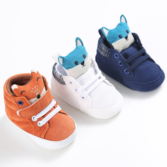 fddf30c97a52 Cartoon Blue Baby Sport Sneakers Branded Blue Boy Boots Newborn Chaussure  Girls Casual Booties Soft Sole