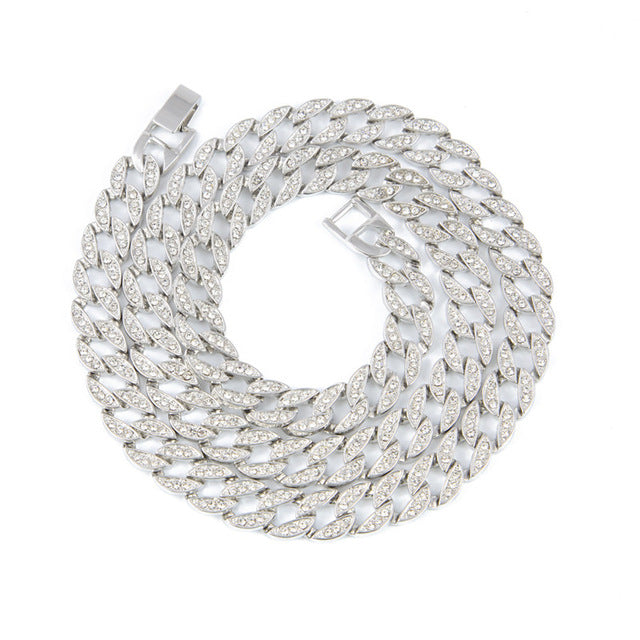 ... UWIN Rapper Hip Hop Men s Necklace Bling Iced out 30