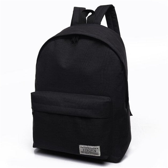 f685beef1a ... DIDA BEAR Brand Canvas Men Women Backpacks Large School Bags For  Teenager Boy Girls Travel Laptop ...